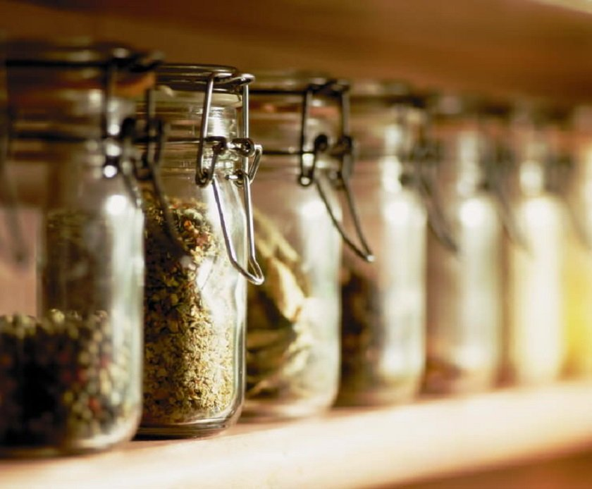 хранение продуктов на маленькой кухне