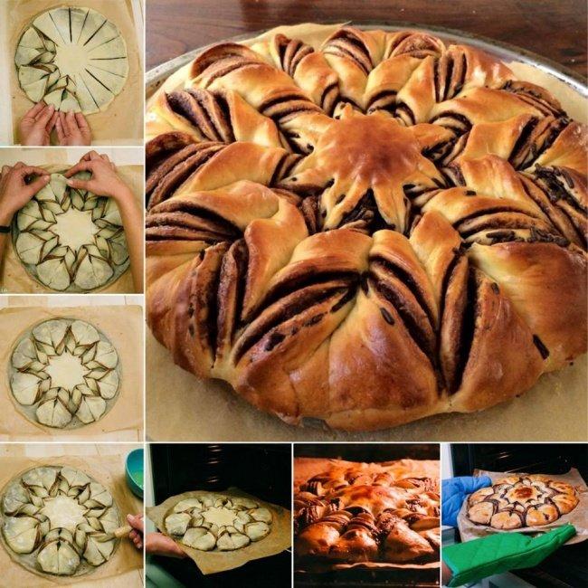 пирог звезда фото