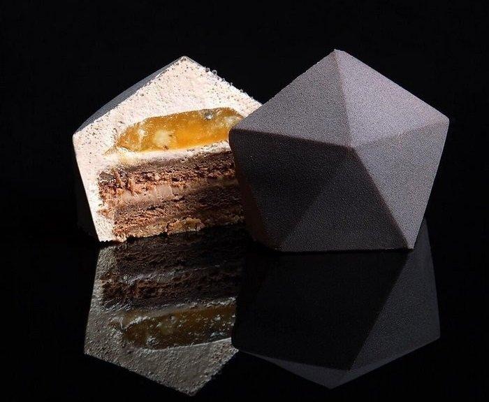 как оформить торт