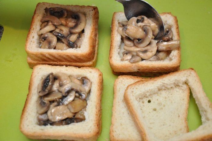 запечь бутерброды фото