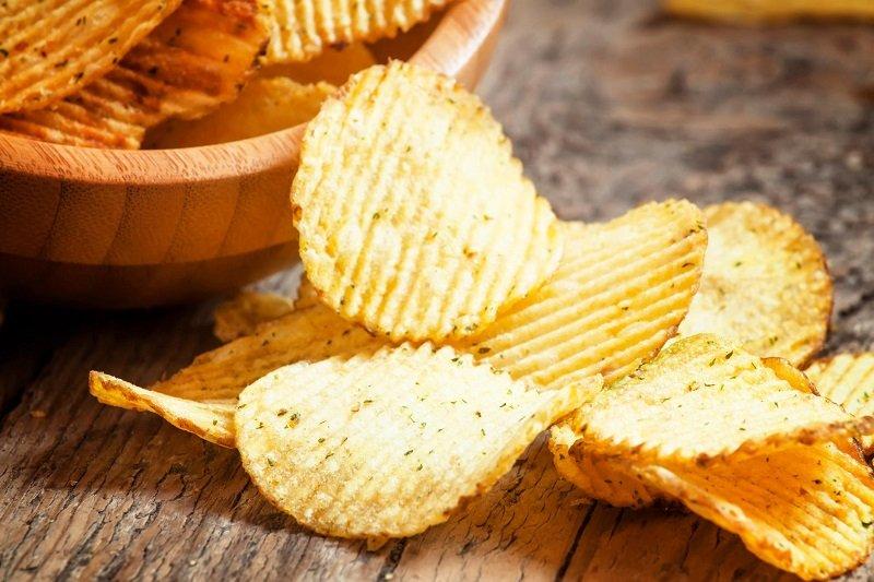 полезные чипсы
