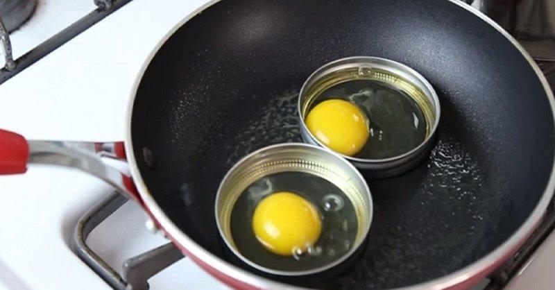 ровная яичница фото