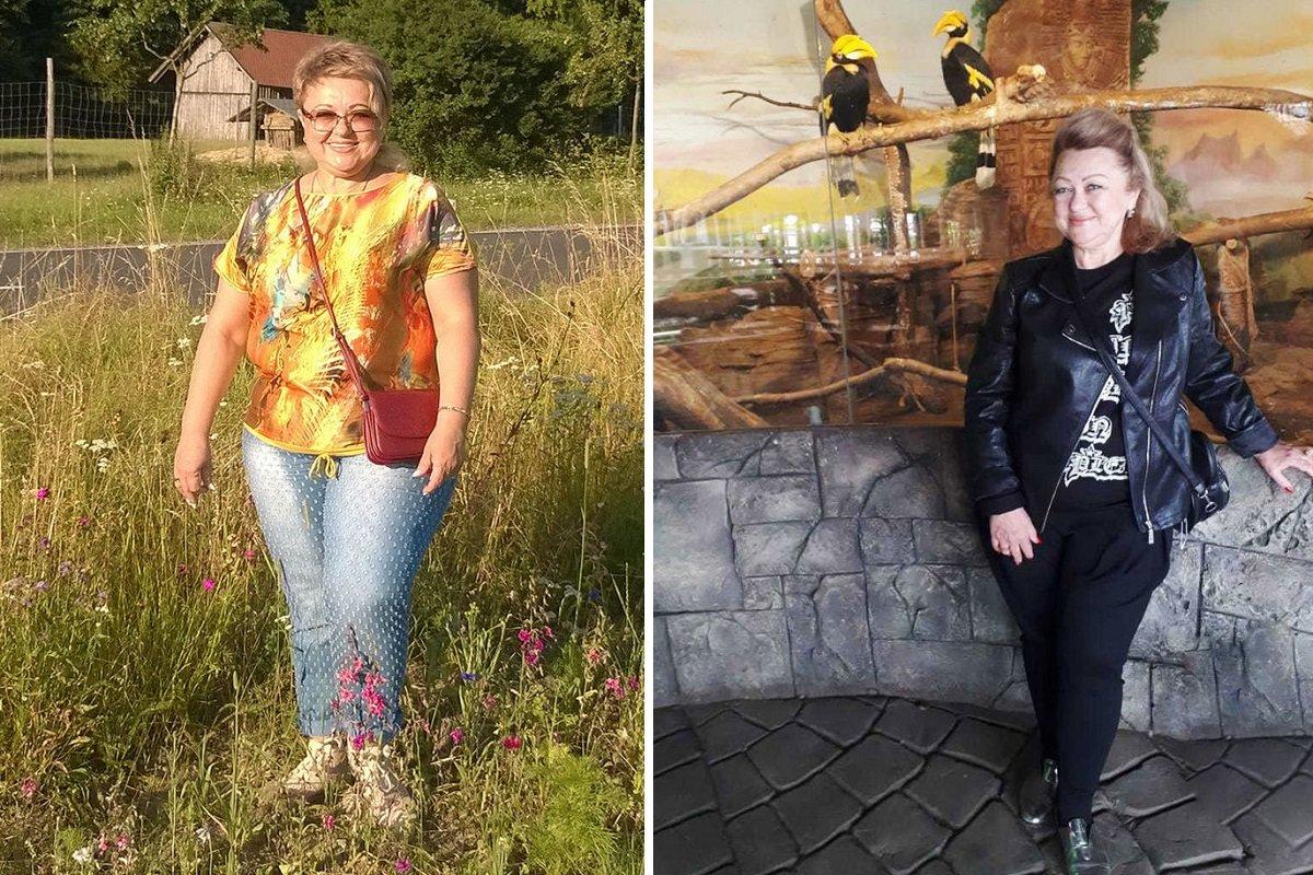 История похудения одной женщины