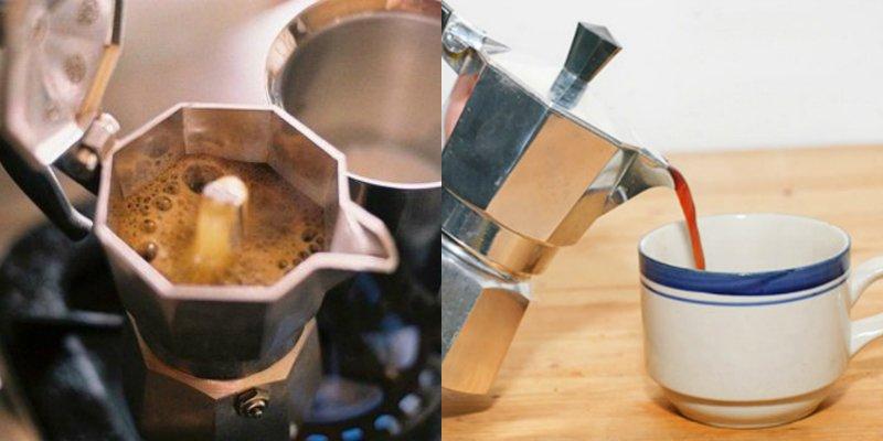 приготовить кофе в гейзере