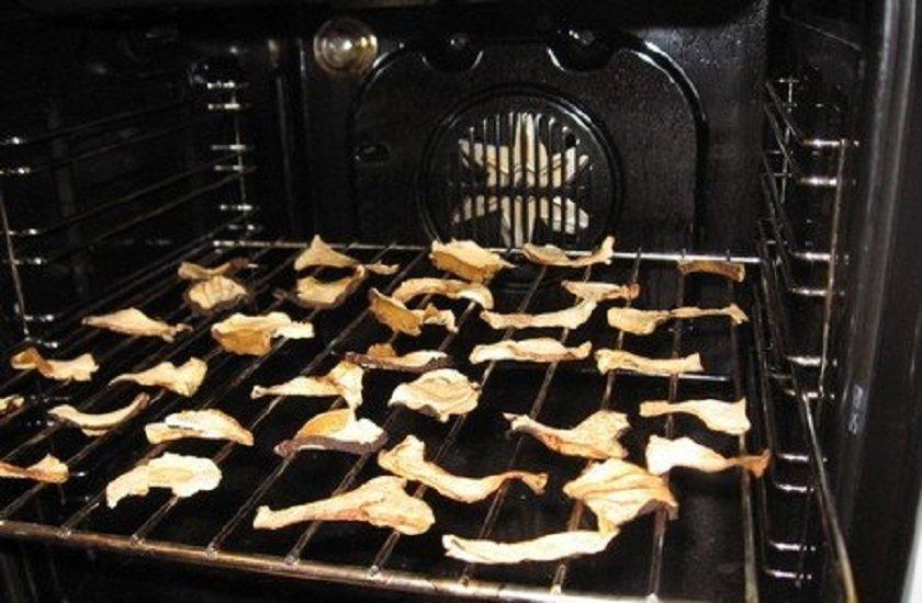 как сушить кабачки в духовке