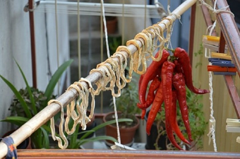 как сушить кабачки на солнце