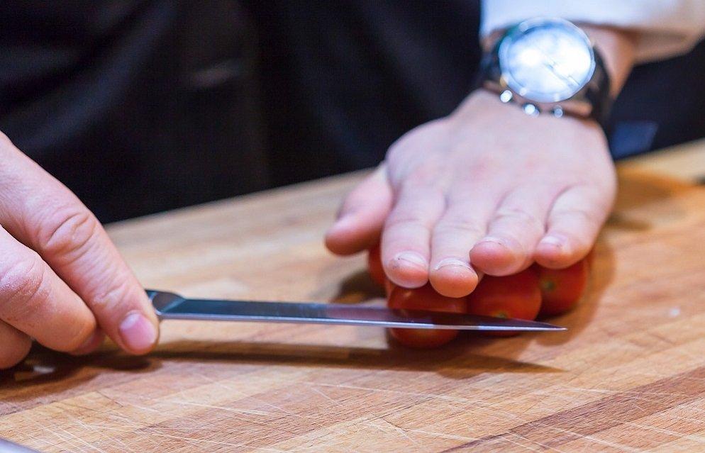 как легко нарезать черри