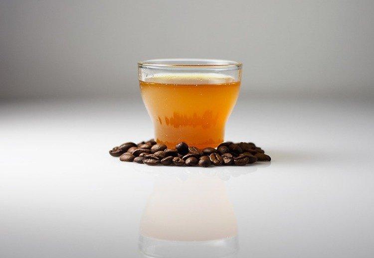 масло из кофе