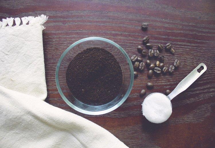 маски из кофейной гущи