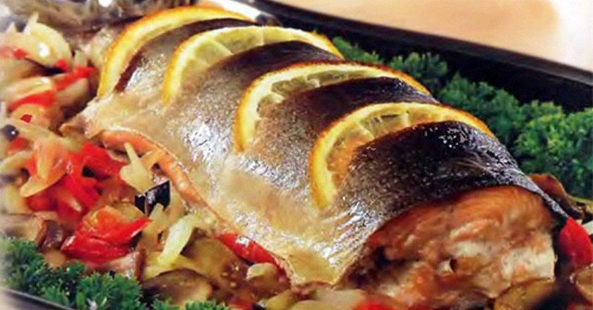 запеченная рыба фото