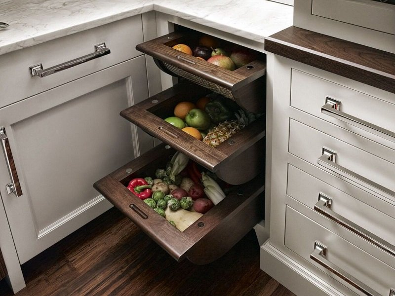 как хранить продукты на кухне