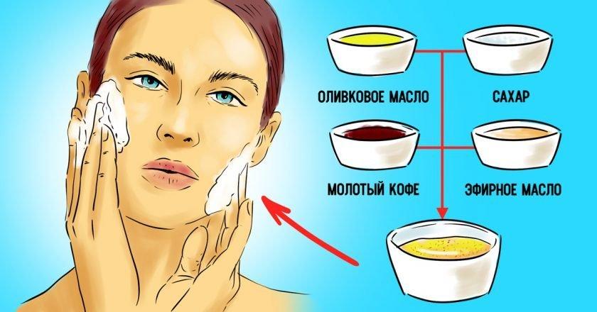 средства по уходу с оливковым маслом