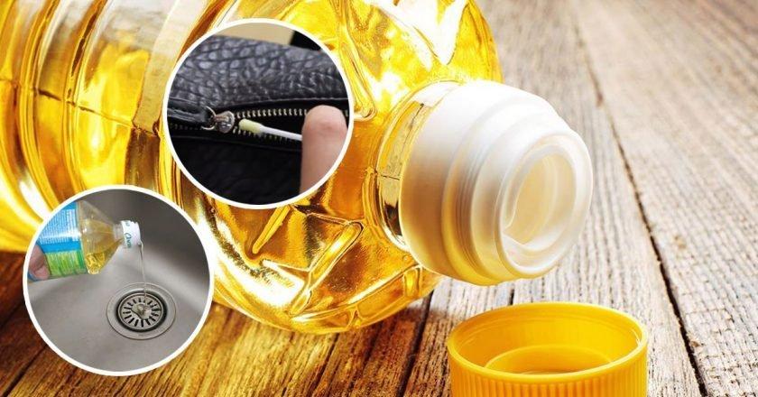 Как использовать подсолнечное масло