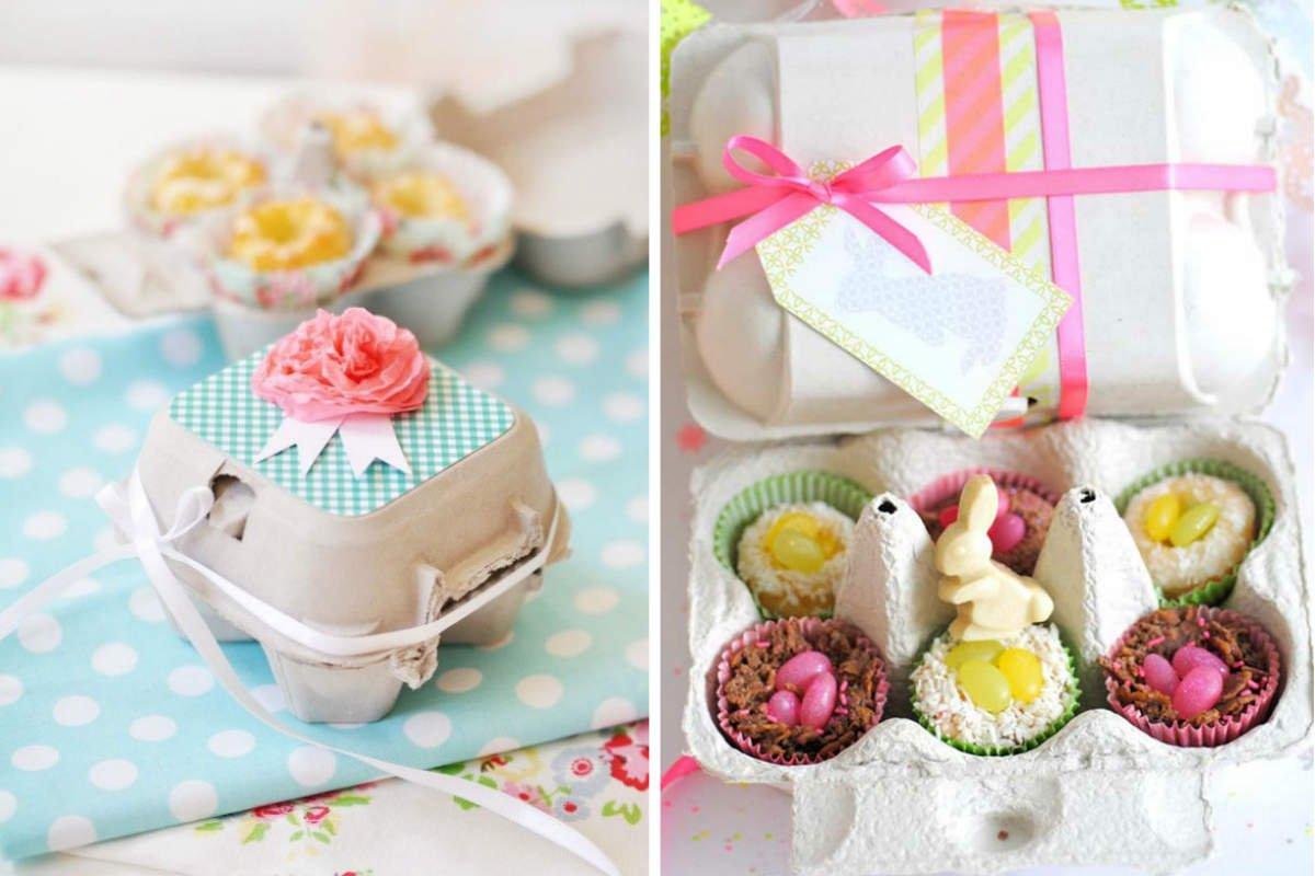 использование упаковки для яиц фото