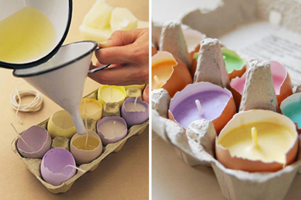 яйца-свечи фото