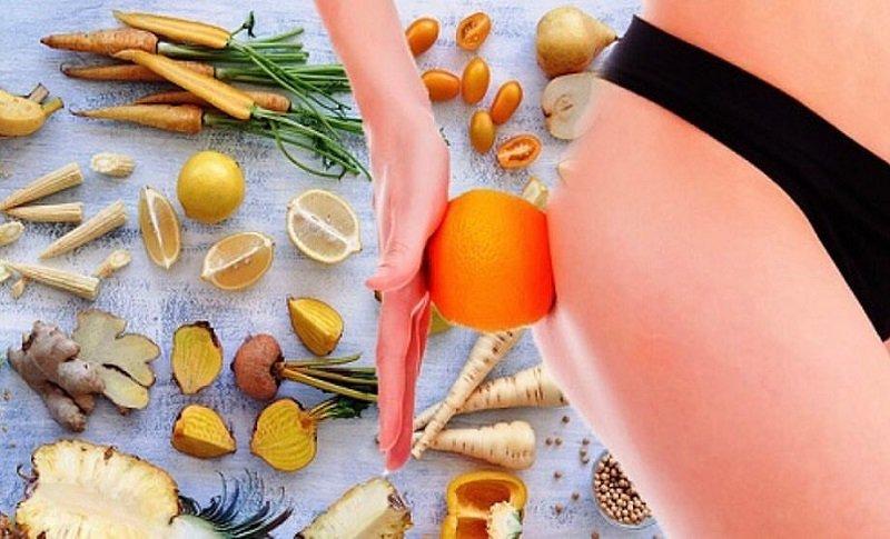 антицеллюлитная диета на месяц