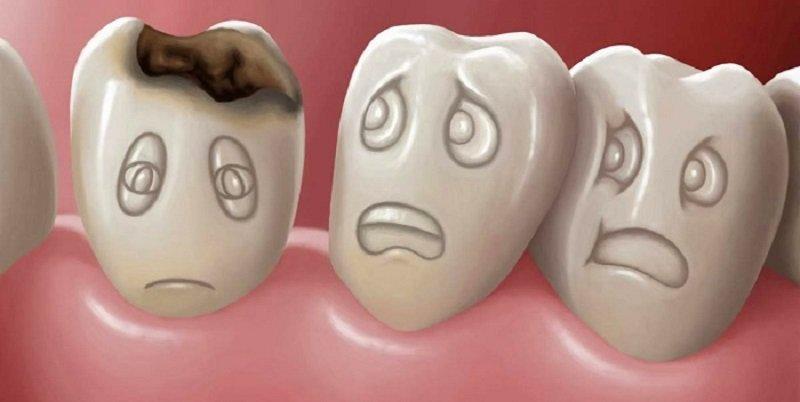 dlaczego zęby bolą