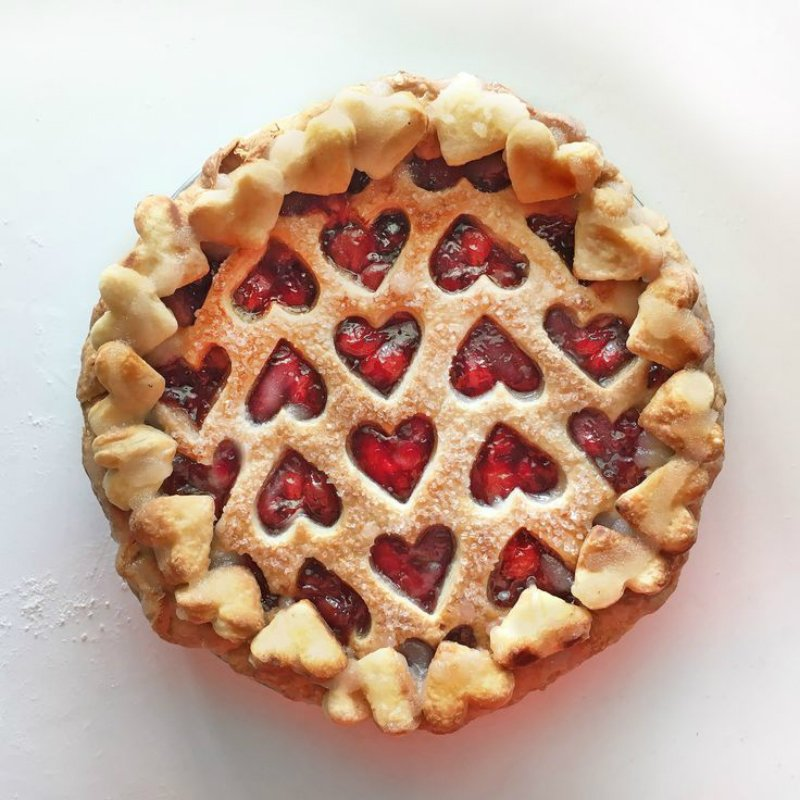как украсить пирог
