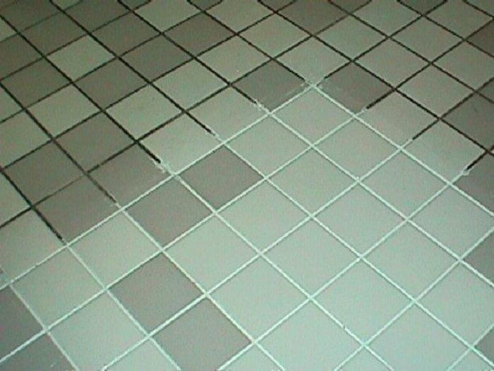очистить швы между плитками