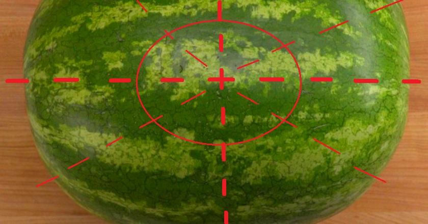 как нарезать арбуз