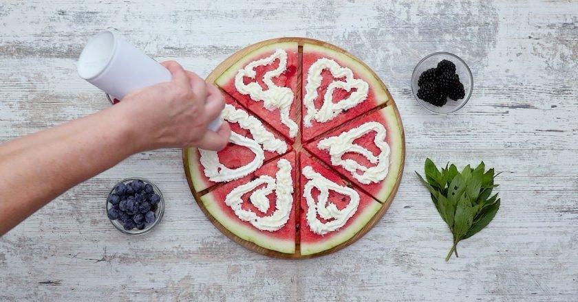 пицца из арбуза