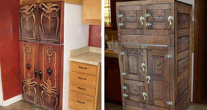 Шкаф покрасить под старину своими руками 41