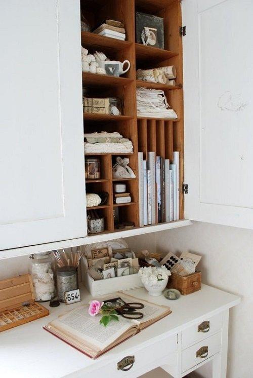 место для хранения кухонных принадлежностей
