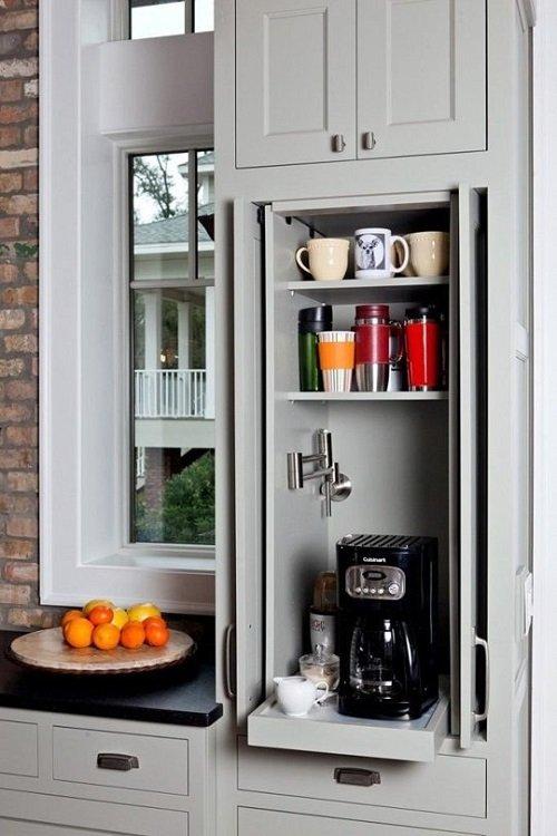 кофейный шкаф