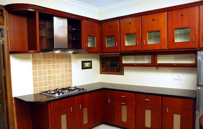 яркая кухонная мебель фото