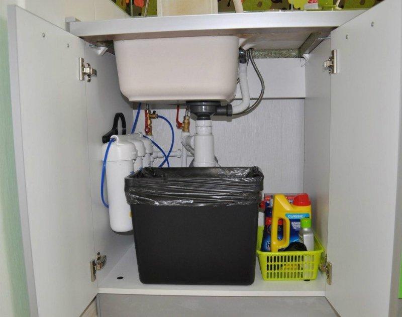 система очистки воды под мойкой