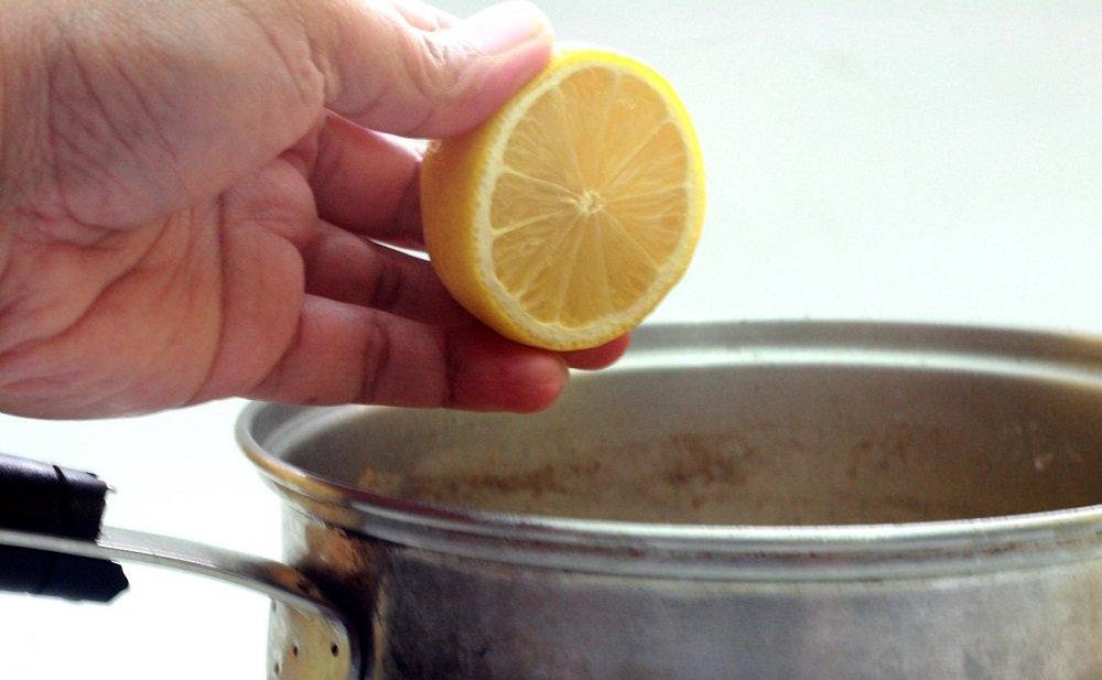 лимоны для очистки духовки