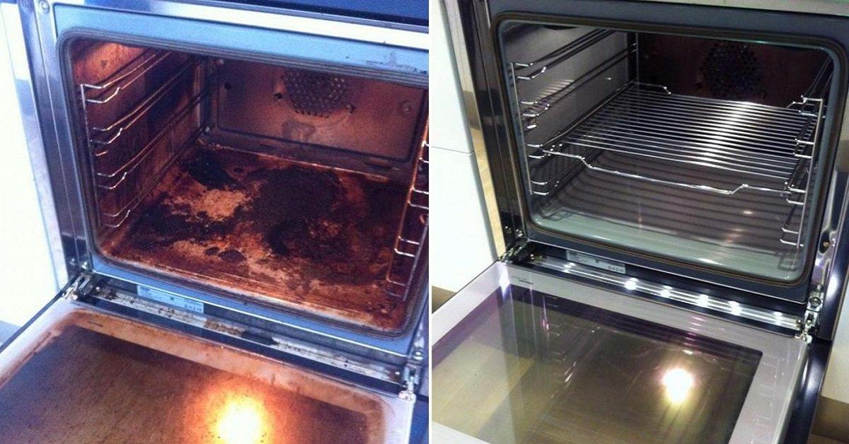 Как очистить газовую духовку в домашних условиях