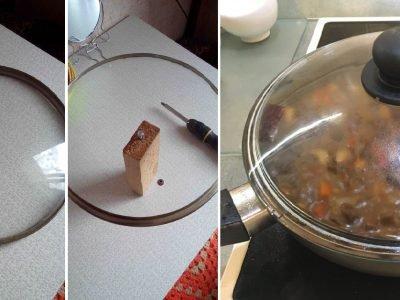 Как очистить крышки от жира