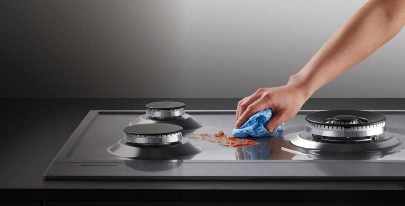 как очистить плиту