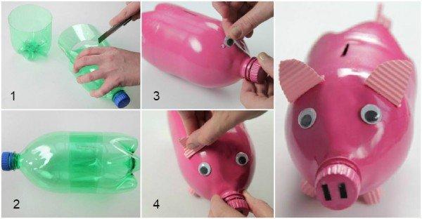 как оригинально использовать пластиковые бутылки