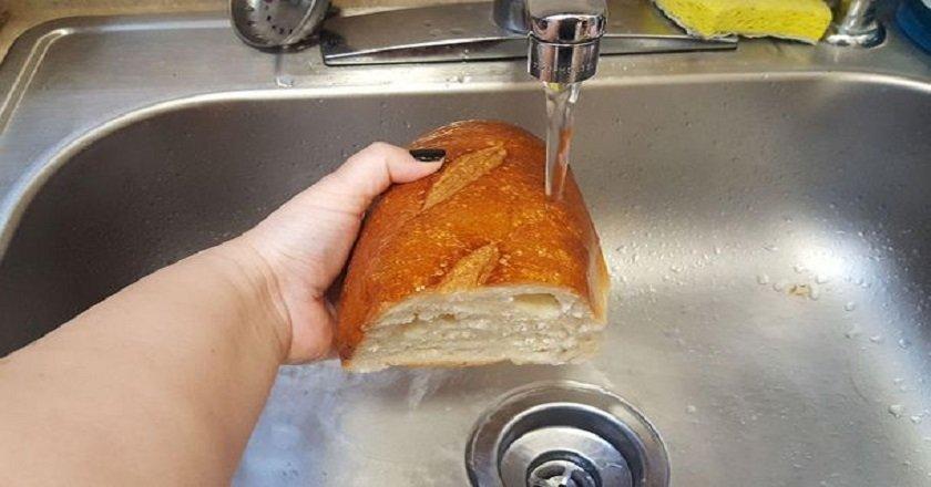 освежить хлеб
