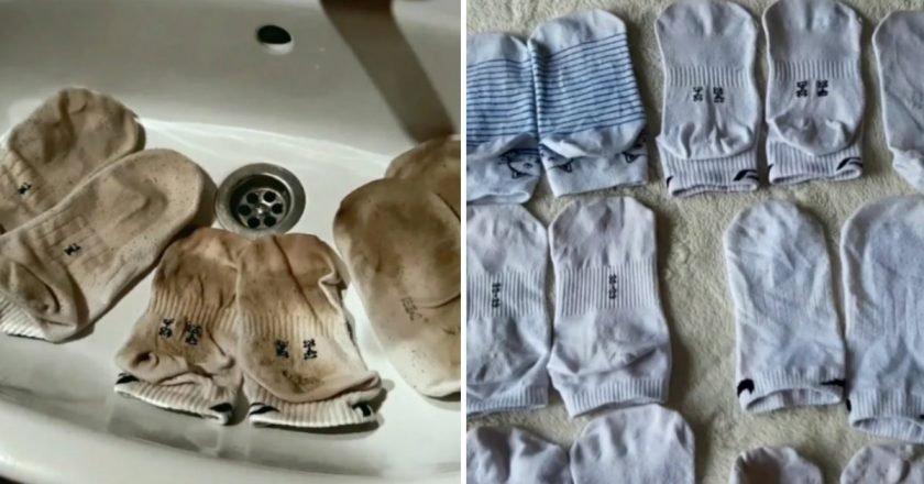 Как отбелить носки в домашних условиях- Со Вкусом
