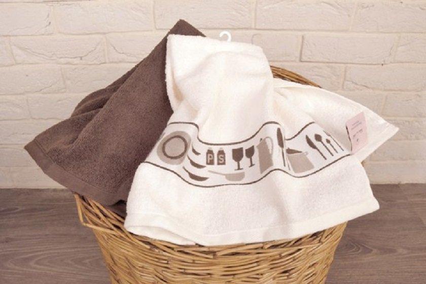 как отстирать кухонные полотенца дома