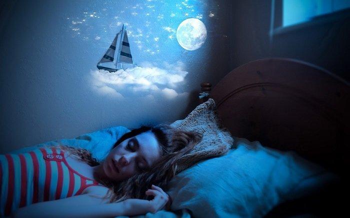 похудеть во время сна