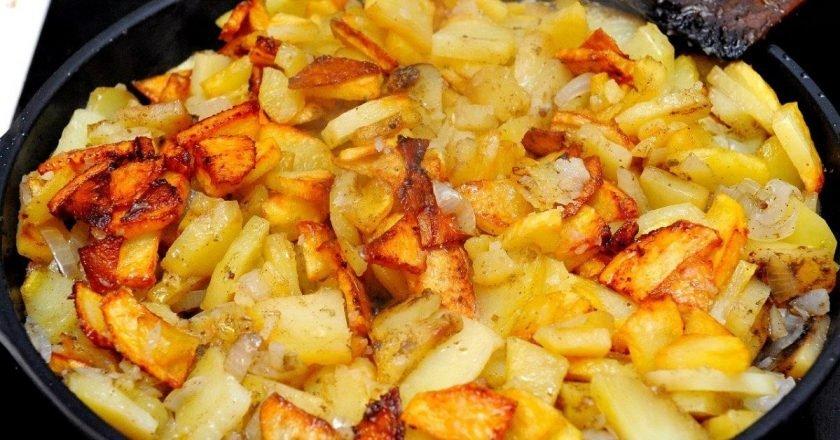 жареная картошечка фото