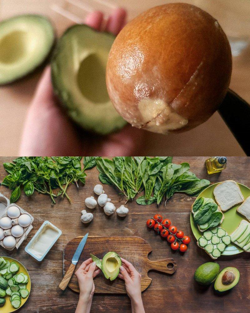 как правильно есть авокадо