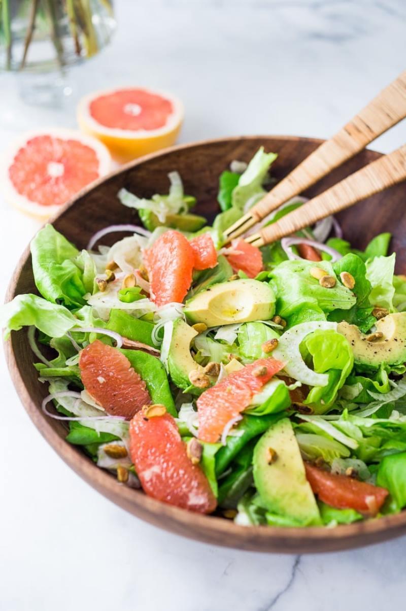 как приготовить салат с авокадо и тунцом
