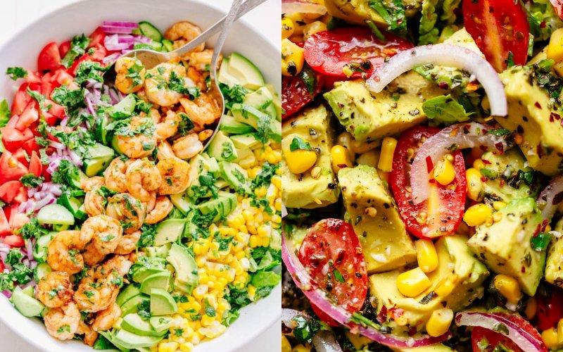 как правильно приготовить салат из авокадо