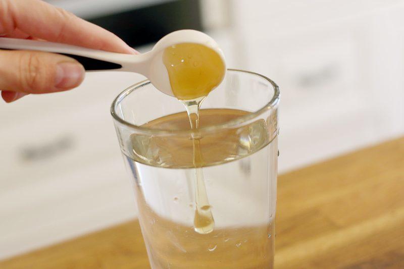 вода с солью для похудения на ночь