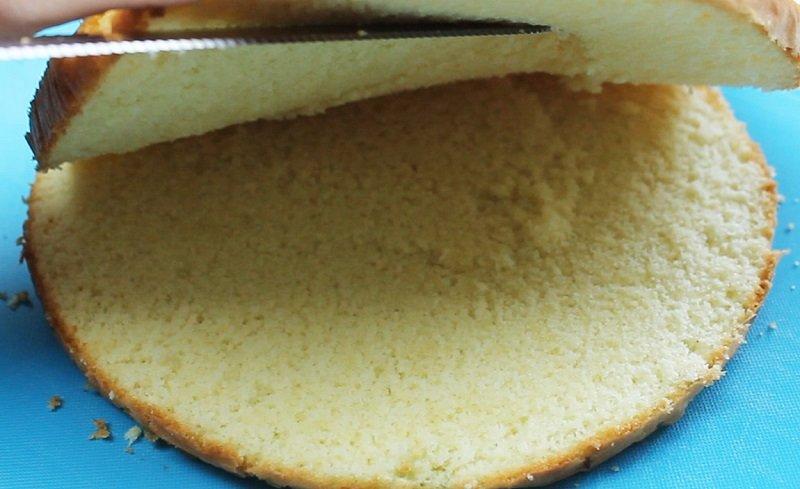 как приготовить бисквит в домашних