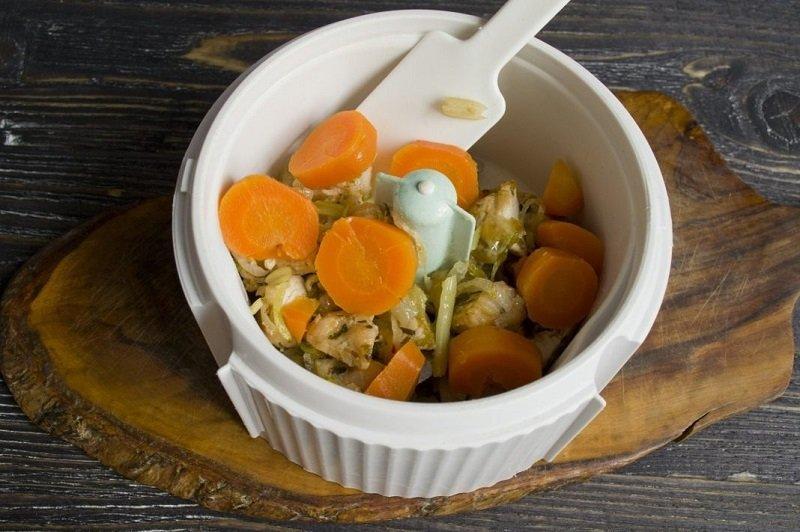 курячий паштет з морквою