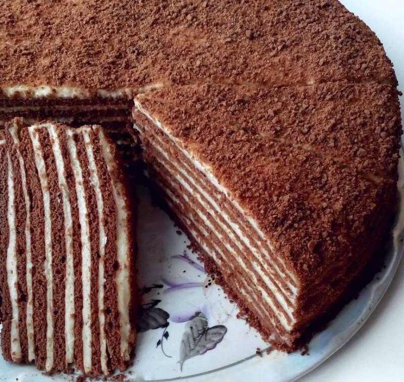 дает более медовик шоколадный рецепт фото пошагово повсюду италии можно