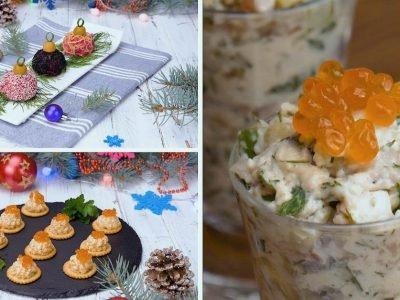 Как приготовить праздничные закуски из сельди