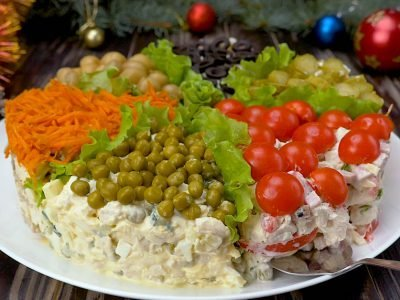 Как приготовить праздничный салат «Ассорти»
