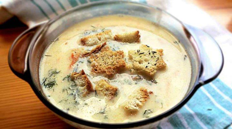 сырный суп с белым вином